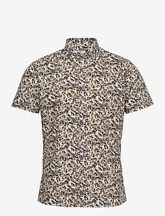 8801 - Iver 2 Soft ST - casual shirts - light camel
