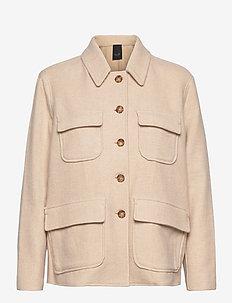 6658 - Camelo - wool jackets - ecru/light sand