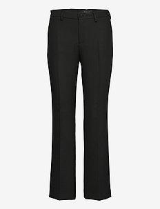 3596 - Dori A Flared - broeken med straight ben - black
