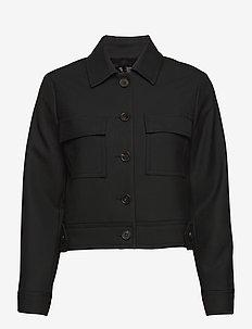 3596 - Kaela - lichte jassen - black