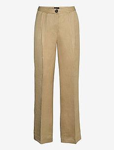 Twill Lux - Miriam - pantalons droits - light camel