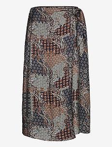 3424 - Wrap Skirt - midi kjolar - pattern