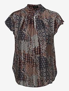 3424 - Prosi Top - blouses met korte mouwen - pattern