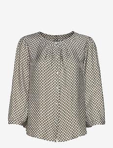 3437 - Bala Puff - blouses met lange mouwen - blue