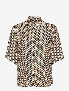 3437 - Latia SS - overhemden met korte mouwen - soft pink