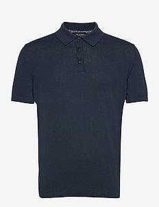 5419 - Rico Polo - korte mouwen - dark blue/navy