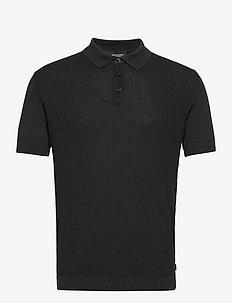 5445 - Retro Polo - short-sleeved polos - black
