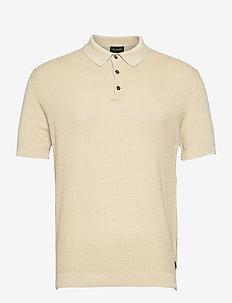 5445 - Retro Polo - short-sleeved polos - light camel