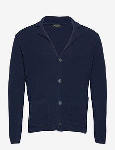 5491 - Cardigan - basic strik - dark blue/navy