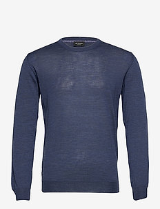 Cool Wool - Iq - basic strik - medium blue