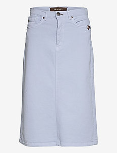 0639 - Kathy Skirt - midi kjolar - light blue
