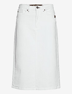 0639 - Kathy Skirt - jupes midi - optical white