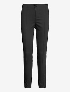 Suede Touch WF - Arella - slim fit broeken - black
