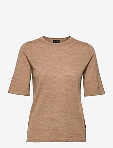 Fellini - T-Shirt - t-shirts - camel