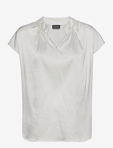 3176 - Prosi Top S - kortærmede bluser - off white