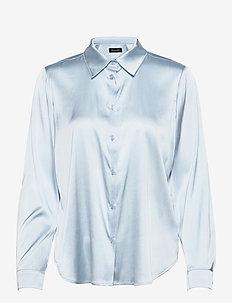 3176 - Latia - långärmade skjortor - light blue