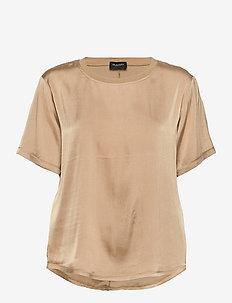 3176 SW - Minerva - blouses à manches courtes - light camel