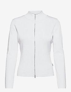 5181 - Della Zip - koftor - white