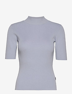 5181 - Della - hauts tricotés - ice blue