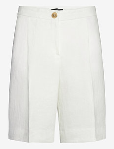 6669 WW - Miriam Short - bermudas - optical white