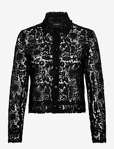 3180 - Kaela - overhemden met lange mouwen - black