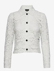 3180 - Kaela - langærmede skjorter - off white