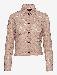 3180 - Kaela - långärmade skjortor - pink