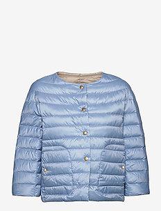 Summer Down R - Sanne - gewatteerde jassen - ice blue