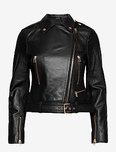 Soft Lamb Leather - Antille - vestes en cuir - black