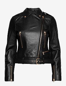 Soft Lamb Leather - Antille - leren jassen - black