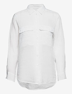 8851 - Nami - chemises à manches longues - optical white