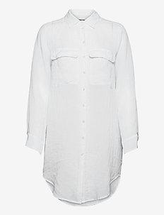 8851 - Nami Long CB - robes chemises - optical white