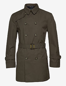 Techno Cotton - Trench B - trenchcoats - olive/khaki
