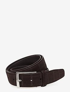 Belt MW  - B093 - 35mm - paski klasyczne - brown