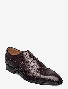 Footwear MW - F369 - snøresko - dark brown