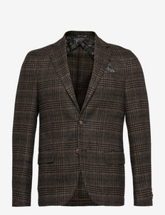 6683 - Star Easy Normal - blazers à boutonnage simple - dark brown