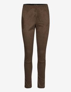 0736 - Shamar - slim fit broeken - khaki