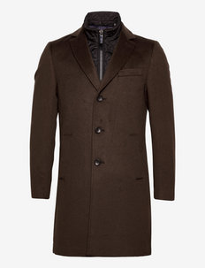 Cashmere Coat - Sultan Tech - kurtki zimowe - dark brown