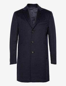 Cashmere Coat - Sultan Relax - kurtki zimowe - medium blue