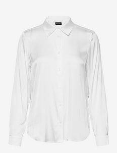 3176 Matt - Latia - long-sleeved shirts - off white