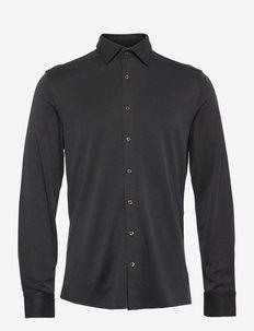 Shawn - Iver 2 - linnen overhemden - dark blue/navy