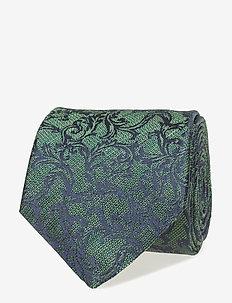Ties 7cm - T282 - slips - green