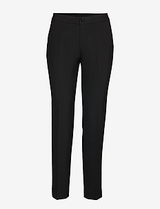 3596 - Dori Ankle - pantalons droits - black