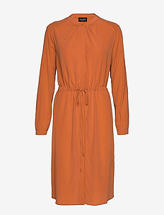 CDC Stretch - Zihia Dress - robes chemises - terracotta