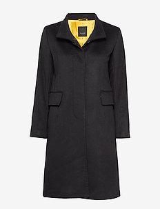 Cashmere Coat WW - Parker 3 - wollen jassen - black