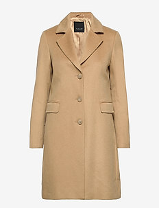 Cashmere Coat WW - Britni 2 - villakangastakit - light camel