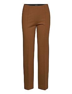2548 - Malhia Wide - straight leg trousers - light camel
