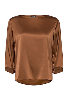 3176 - Nova - blouses met lange mouwen - brown