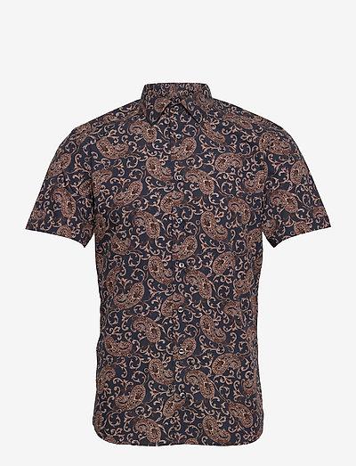 8663 - Iver 2 ST - kortærmede skjorter - medium blue