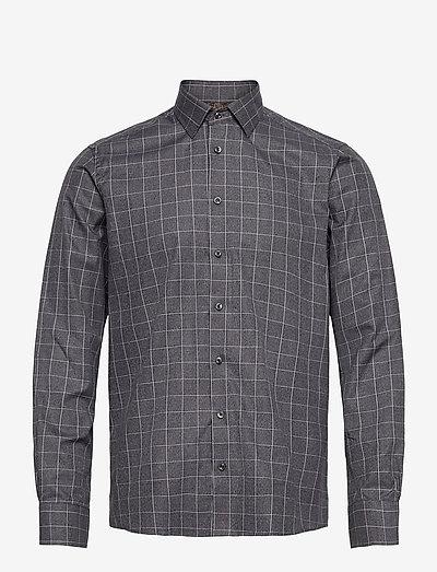 8648 - State N 2 Trim - geruite overhemden - grey